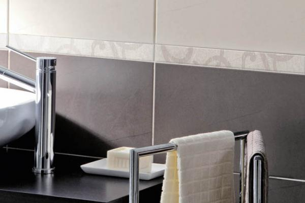 Carrelage mural fa ence fa ence moderne orion grigio for Arte casa carrelage
